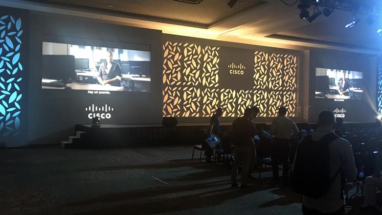 Stym presente en Cisco Live 2018