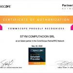 """STYM ha obtenido la certificación """"Networking Solution Provider"""" de Ruckus"""